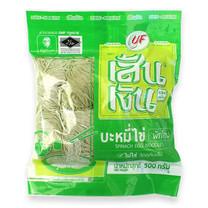 บะหมี่ไข่ผักโขมตราเส้นเงิน 500ก X 1 | Spinach Egg Noodles Sen Ngern 500G X 1