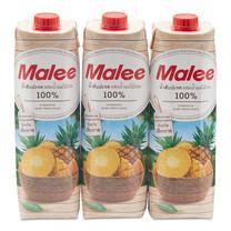 มาลี น้ำสับปะรด นางแล 1000 มิลลิลิตร x 3 กล่อง