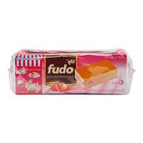 ฟูโด้ เลเยอร์เค้ก สอดไส้ครีมสตรอเบอร์รี่ ขนาด 18 ก. แพ็ก24 ชิ้น
