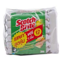 สก็อตช์ไบรต์ ฟองน้ำตาข่าย แพ็ก 6