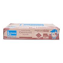 แลคตาซอย นมถั่วเหลืองยูเอชที รสช็อกโกแลต 125 มล. x 60 กล่อง