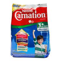 คาร์เนชั่น ทรีพลัส สมาร์ทโก ผลิตภัณฑ์นมผง กลิ่นวานิลลา 900 กรัม