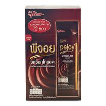 กูลิโกะ พีจอย บิสกิตแท่ง สอดไส้รสช็อกโกแลต ขนาด12 กรัม แพ็ก12 กล่อง