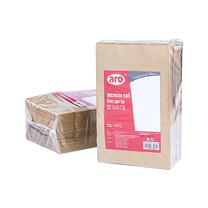 เอโร่ ถุงกระดาษน้ำตาล 13 x 21 ซม. 100 ใบ x 1 แพ็ค