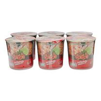 มาม่า คัพ บะหมี่กึ่งสำเร็จรูป รสต้มยำกุ้ง 42 กรัม x 6 ถ้วย