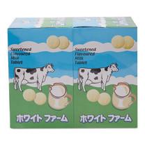 ไวท์ฟาร์ม นมอัดเม็ด รสหวาน 12 ซอง x 2 กล่อง