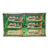 ไมโล ช็อกโกบาร์ ขนมหวานรสช็อกโกแลต 6 ก. x 12 ห่อ