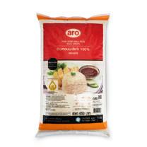 Aro ข้าวหอมมะลิเก่า 100% ขนาด 15 กก.