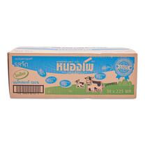 หนองโพ นมยูเอชที รสจืด 225 มล. 36 กล่อง