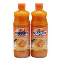 ซันควิก น้ำส้ม ขนาด 840 มล. แพ็ก 2 ขวด