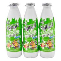 ดีโด้ น้ำผลไม้รวม 10% ผสมโยเกิร์ต 300 มิลลิลิตร 6 ขวด