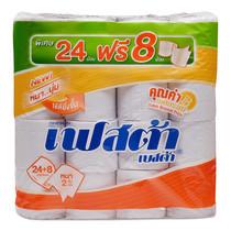 เฟสต้า กระดาษชำระ แพ็กละ 24+8 ม้วน.