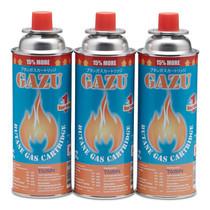 GAZU แก๊สกระป๋อง 250ก. (แพ็ก3 กระป๋อง)