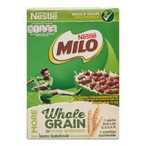 เนสท์เล่ ไมโล อาหารเช้าซีเรียลโฮลเกรน ข้าวสาลีอบกรอบรสช็อกโกแลตและมอลต์ ขนาด170ก.