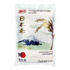 aro ข้าวญี่ปุ่นซาซานิชิกิ ขนาด 5 กก. 1ถุง