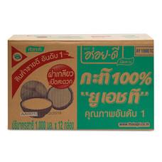 อร่อยดี กะทิ ยูเอชที 1000 มิลลิลิตร x 12 กล่อง