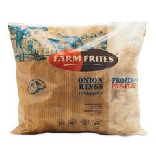 Farm Frites Onion Rings หัวหอมทอด ขนาด 1 กก.
