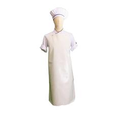 เอโร่ ผ้ากันเปื้อน PVC สีขาว 26 x 40 นิ้ว 2 ชิ้น x 1 แพ็ค
