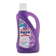 มาจิคลีน ผลิตภัณฑ์ทำความสะอาดพื้น อโรมาติค ลาเวนเดอร์ สีม่วง 900 มล.