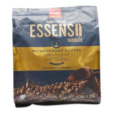 เอสเซนโซ่ 2 อิน 1 กาแฟปรุงสำเร็จชนิดผง ขนาด14 ก. แพ็ก25 ซอง.