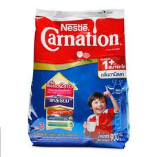คาร์เนชั่น วันพลัส สมาร์ทโก ผลิตภัณฑ์นมผง กลิ่นวานิลลา 900 กรัม