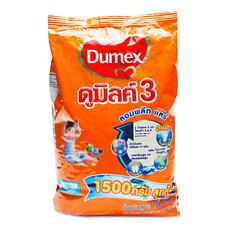 ดูเม็กซ์ ดูมิลค์ 3 คอมพลีตแคร์ รสจืด ขนาด1500 กรัม