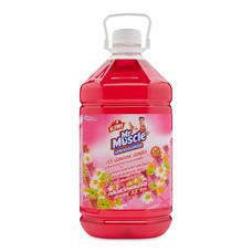 มิสเตอร์มัสเซิล ผลิตภัณฑ์ทำความสะอาดพื้น กลิ่นโรแมนติกโรส 5.2 ลิตร.