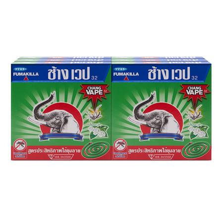ช้างเวป ยาจุดกันยุง 10 ขด x 6 กล่อง