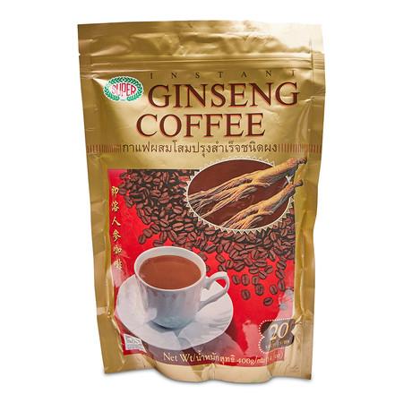 ซุปเปอร์ กาแฟผสมโสม ขนาด20 ก. แพ็ก20 ซอง