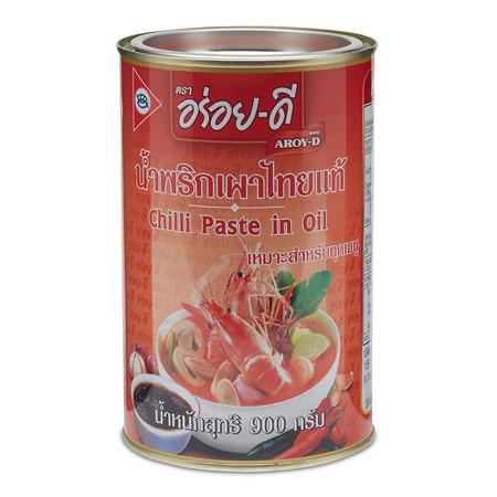 อร่อยดี น้ำพริกเผา 900 กรัม 1 กระปุก