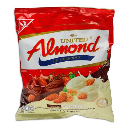 ยูไนเต็ดอัลมอนด์ อัลมอนต์เคลือบช็อกโกแลต 275 ก.