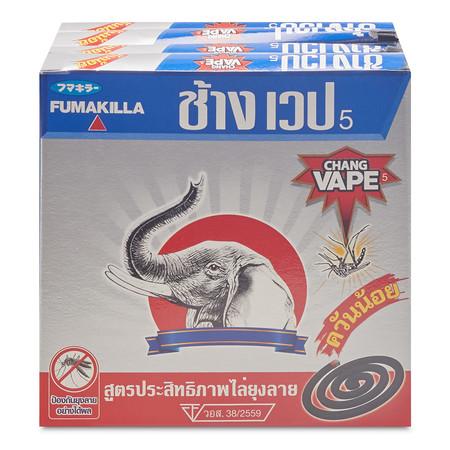 ช้างเวป ยาจุดกันยุง แพ็ก 6 กล่อง