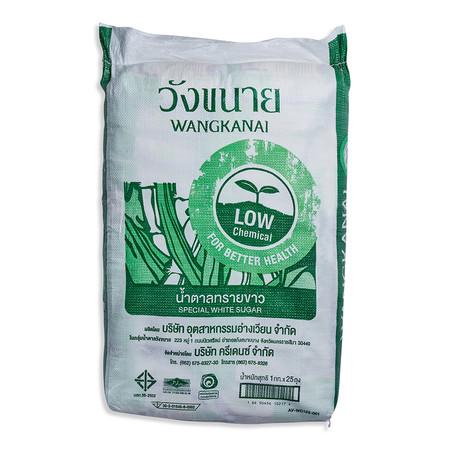 วังขนาย น้ำตาลทรายขาว 1 กิโลกรัม x 25 ถุง