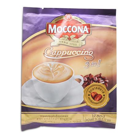 มอคโคน่า คาปูชิโน กาแฟปรุงสำเร็จ 25 ก. x 12 ซอง