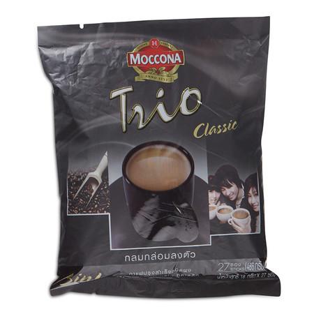 มอคโคน่า ทรีโอ คลาสสิค กาแฟปรุงสำเร็จชนิดผง 18 ก. x 27 ชิ้น