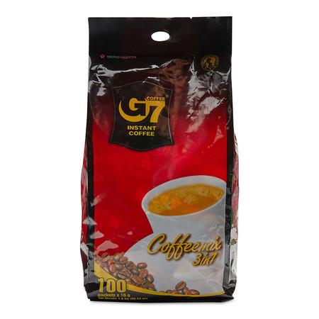 G7 กาแฟสำเร็จรูป3IN1 ขนาด16กรัม แพ็ก 100 ซอง