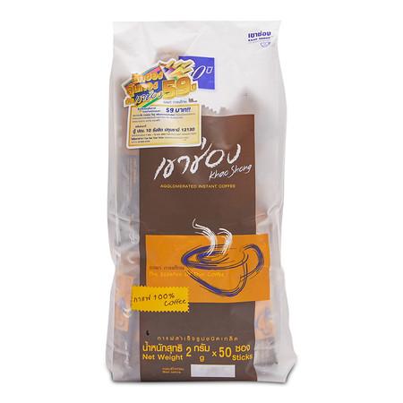 เขาช่อง กาแฟเกล็ด 100% ขนาด 50 ซอง