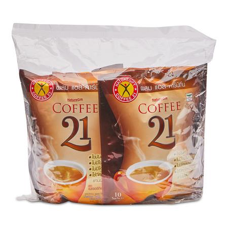 เนเจอร์กิฟ กาแฟปรุงสำเร็จ ขนาด13.5กรัม แพ็กละ 10 ถุง.