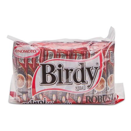 เบอร์ดี้ 3อิน1 กาแฟปรุงสำเร็จชนิดผงโรบัสต้า ขนาด 16.5 กรัม (60 ซอง)