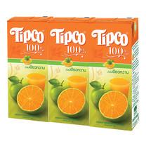 ทิปโก้ น้ำส้มเขียวหวาน 200 มล. แพ็ก 3