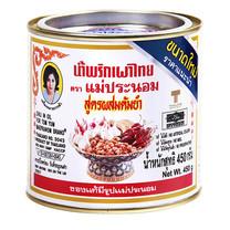 แม่ประนอมน้ำพริกเผาไทยสูตรผสมต้มยำ 450 ก.