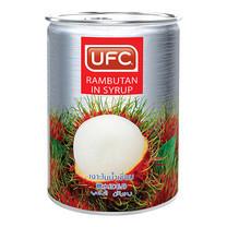 UFC เงาะในน้ำเชื่อม 565 ก.