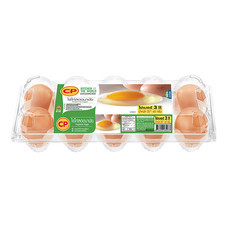 ไข่ไก่กล่อง CP 10 ฟอง # 3