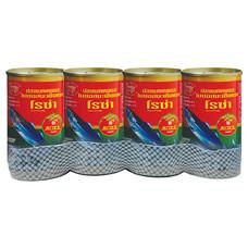 โรซ่าปลาแมคเคอเรลในซอสมะเขือเทศ 155 กรัม (x4แพ็ก)