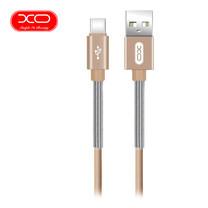 XO สายชาร์จ NB27 Spring Typc-C Cable ยาว 1 m - Gold