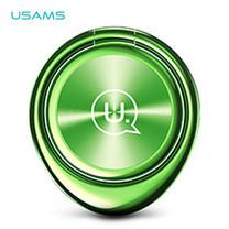 แหวน Ring Holder USAMS สำหรับยึดติดโทรศัพท์ รุ่น US-ZJ024 - Green
