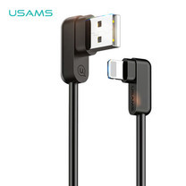 สายชาร์จ USAMS รุ่น US-SJ165 Lightning U-flow Series - Black