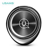 แหวน Ring Holder USAMS สำหรับยึดติดโทรศัพท์ รุ่น US-ZJ024- Black