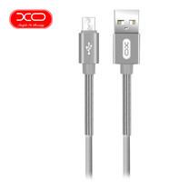 XO สายชาร์จ NB27 Spring Micro-USB Cable ยาว 1 m - Silver