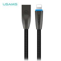 สายชาร์จ USAMS รุ่น US-SJ182 Lightning Data and Charging Cable 1.2m - Black